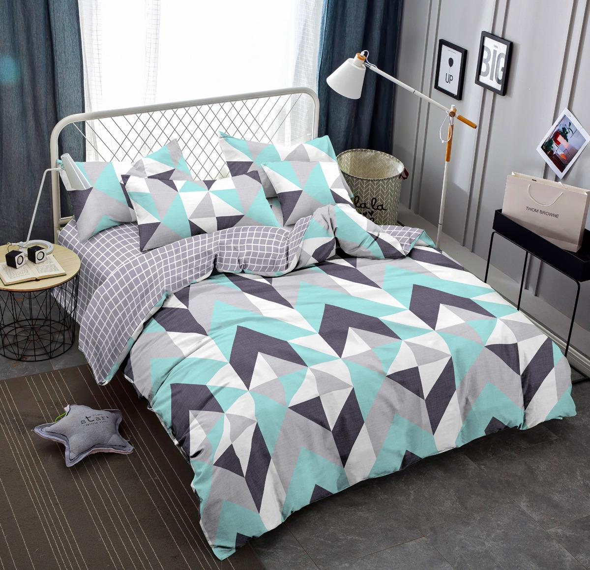 Комплект постельного белья Amore Mio Gold Kvint, 1,5-спальный, наволочки 70x70