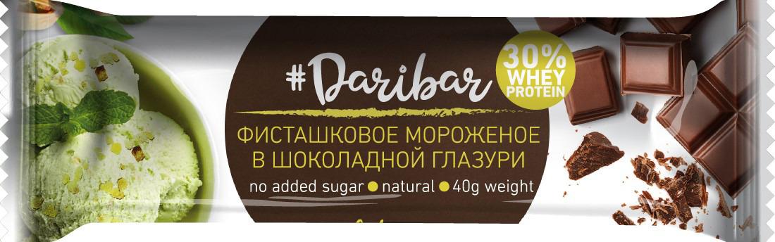 Фото - Протеиновый батончик Daribar, глазированный, фисташковое мороженое, 40 г поло print bar little dari