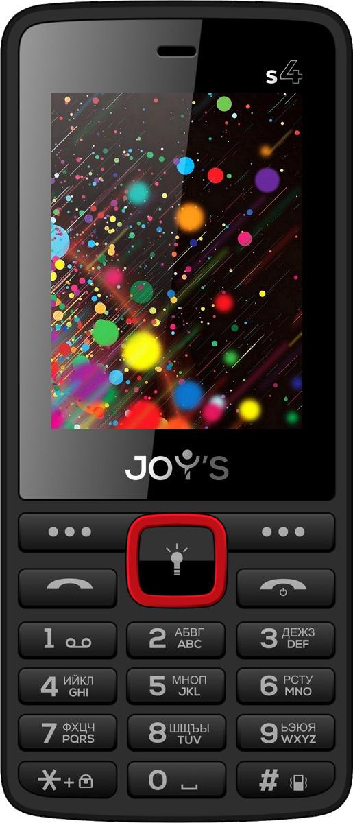 Мобильный телефон Joys S4 DS, красный