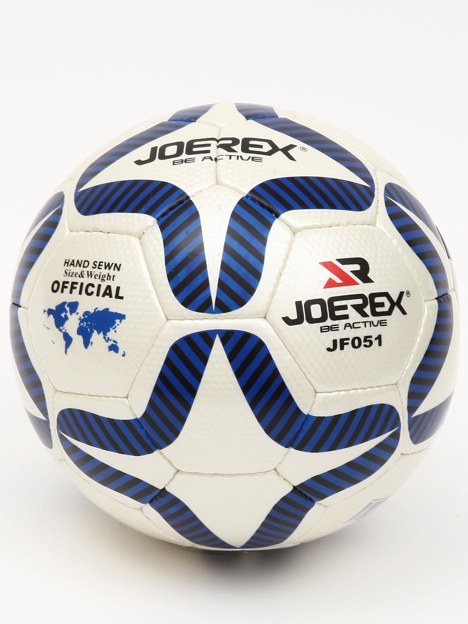 Мяч футбольный JOEREX Мяч футбольный №5, серебристый мяч футбольный joerex 5 jis010