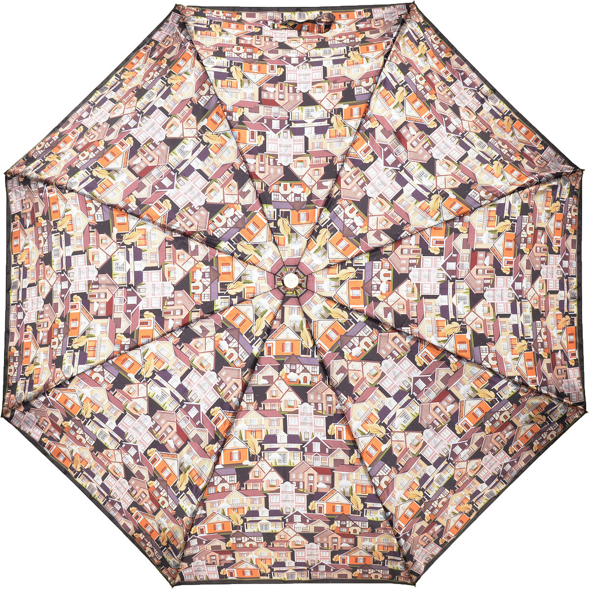 Зонт женский Fabretti, автомат, 3 сложения, цвет: мультиколор. L-18115-12