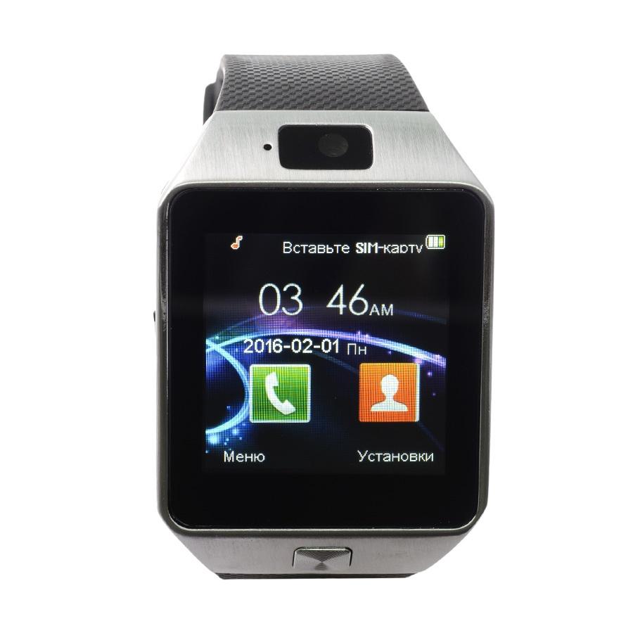 Умные часы DZ09, черно-серый, серый металлик умные часы colmi dz09 bronze