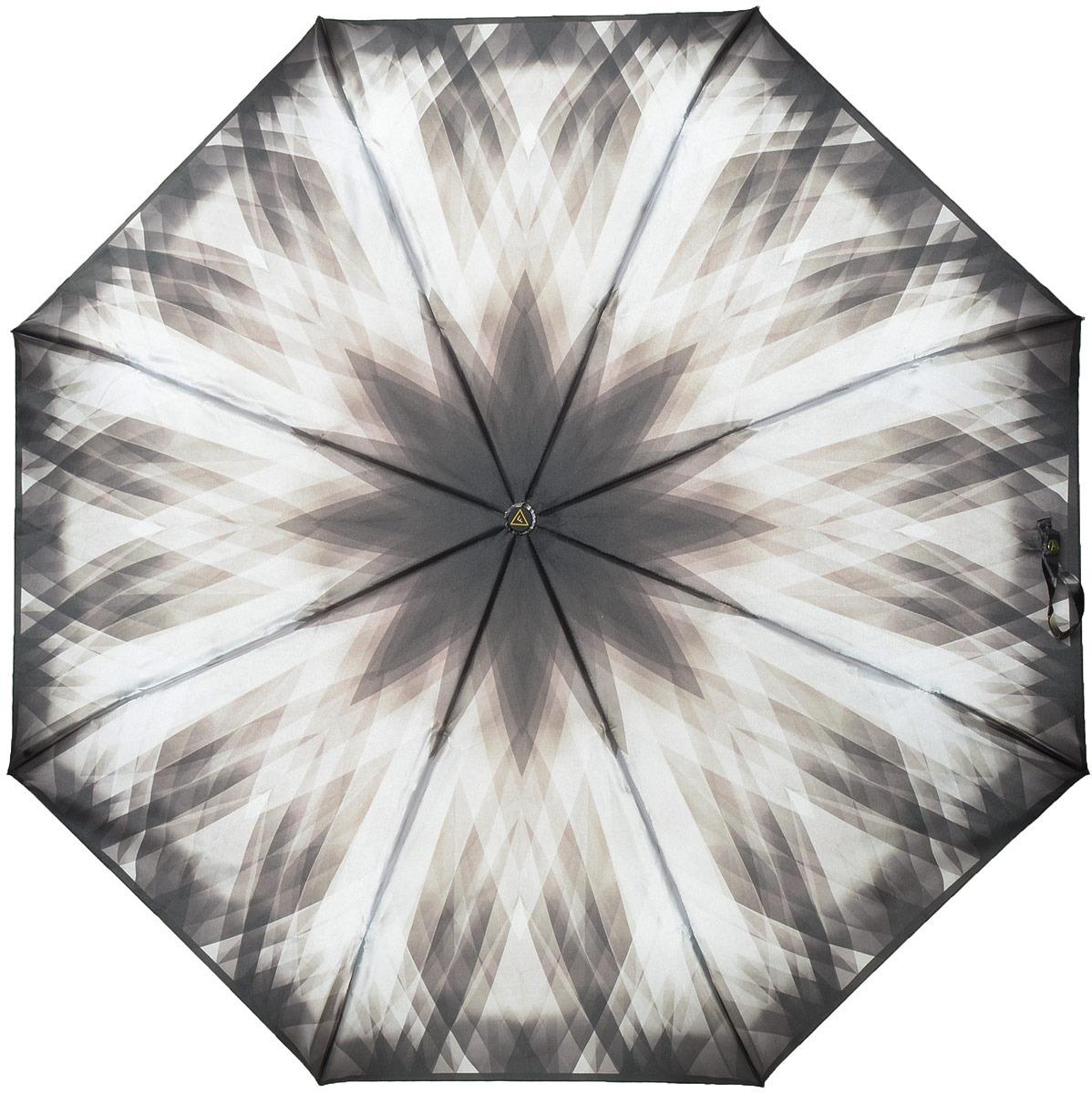 Зонт женский Fabretti, автомат, 3 сложения, цвет: мультиколор. S-18104-11