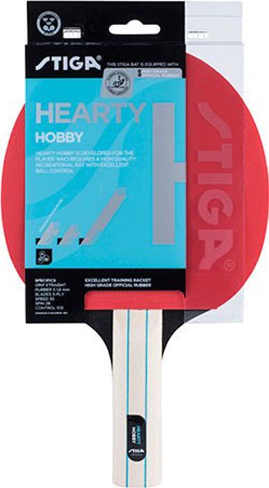 Ракетка для настольного тенниса Stiga Hearty, 1210-1417-37 ракетка для настольного тенниса stiga octane 1 1211 3216 01
