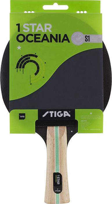 Ракетка для настольного тенниса Stiga Oceania 1-звезда, 1211-3316-01 original stiga tube light wrb tl wrb table tennis blade
