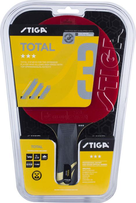 Ракетка для настольного тенниса Stiga Total 3-звезды, 1213-2417-01 цена