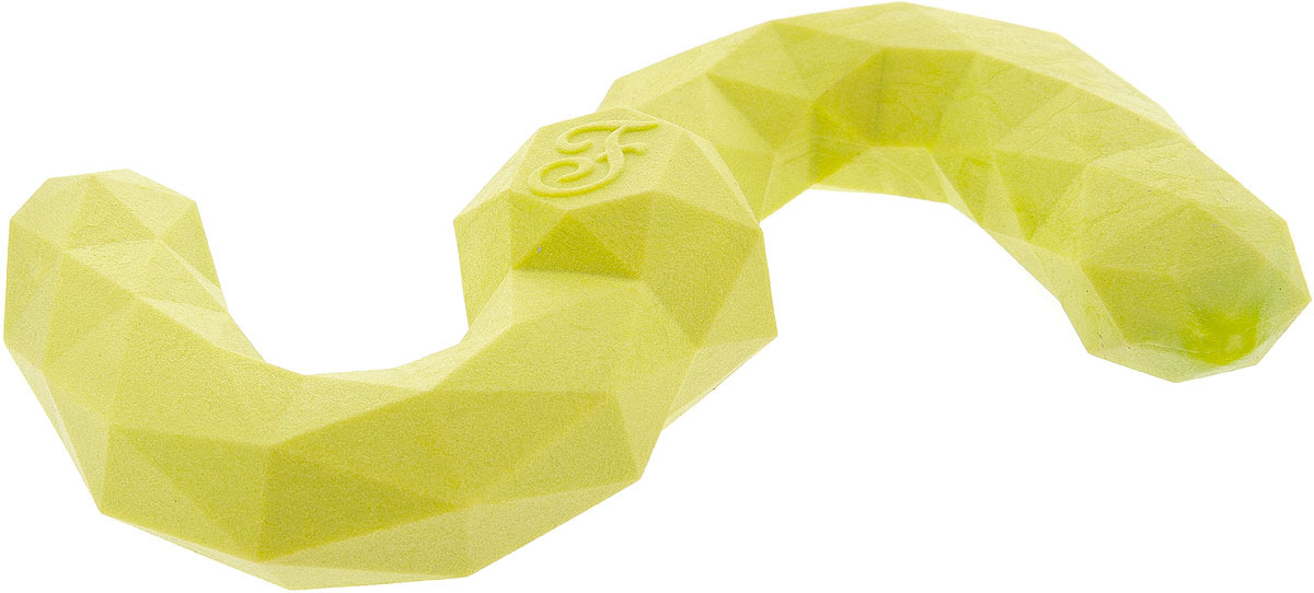 Игрушка-бумеранг для собак Ferribiella Fuxtreme Poly S, с ароматом бекона, 33850, 20,8 х 11,5 4,6 см