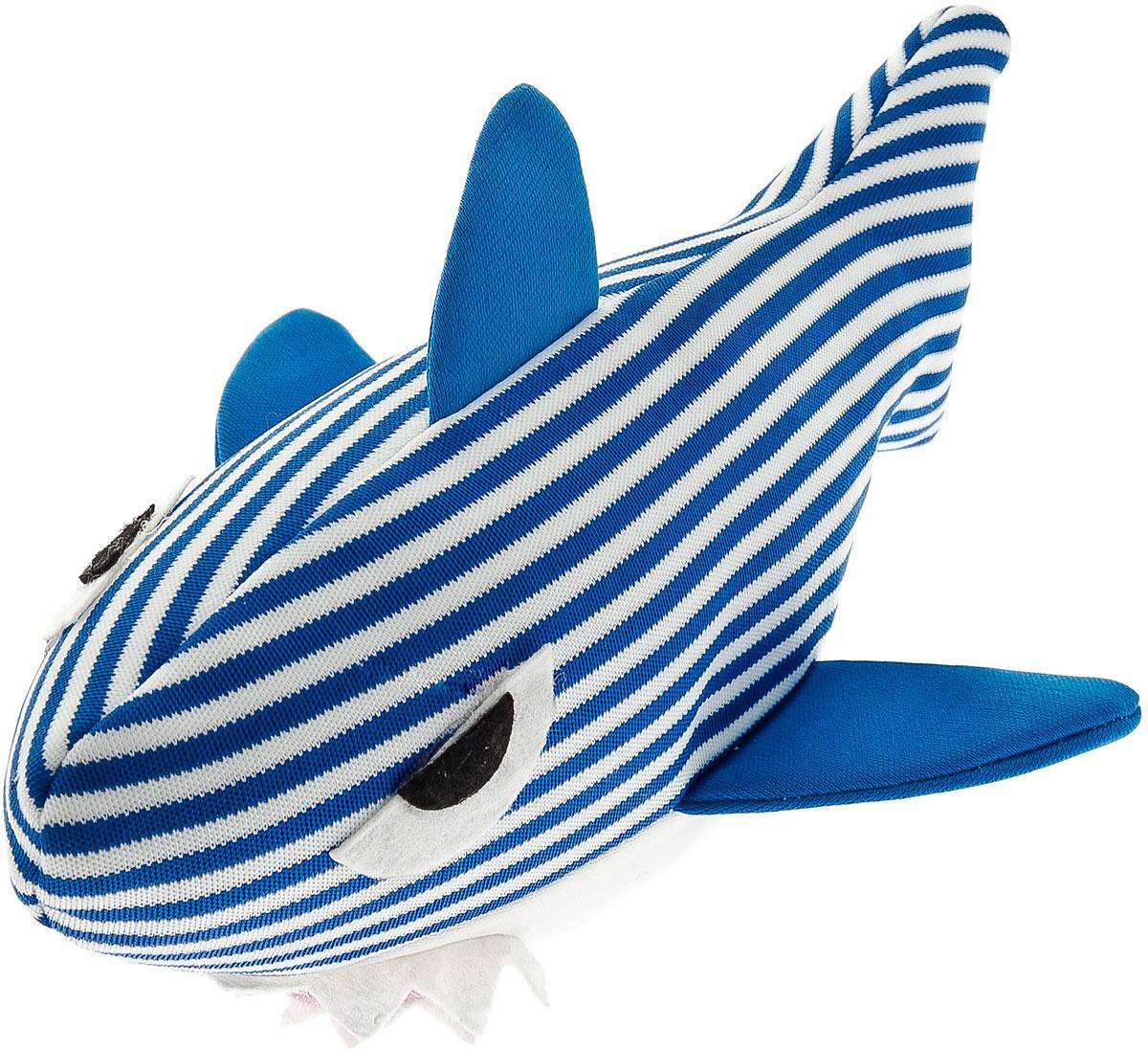 Игрушка для животных Ferribiella Squalo Ocean Galleggiante Акула, не тонущая, 47322, 16 х 27 см
