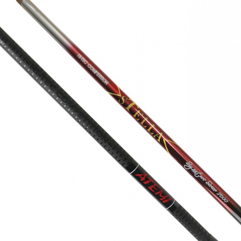 Удилище ATEMI STELLA 10, черный, коричнево-красный, коричневый, красный