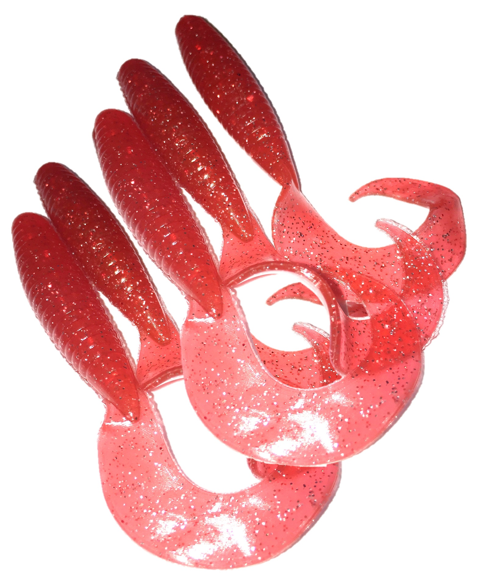 Твистер AGP УТ000029806, красный