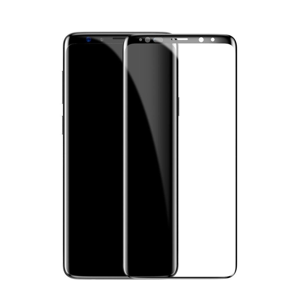 Защитное стекло Baseus SGSAS9P-TM01, черный for lenovo zuk z2 lcd screen display with touch screen digitizer panel glass assembly black white replacement parts free shipping