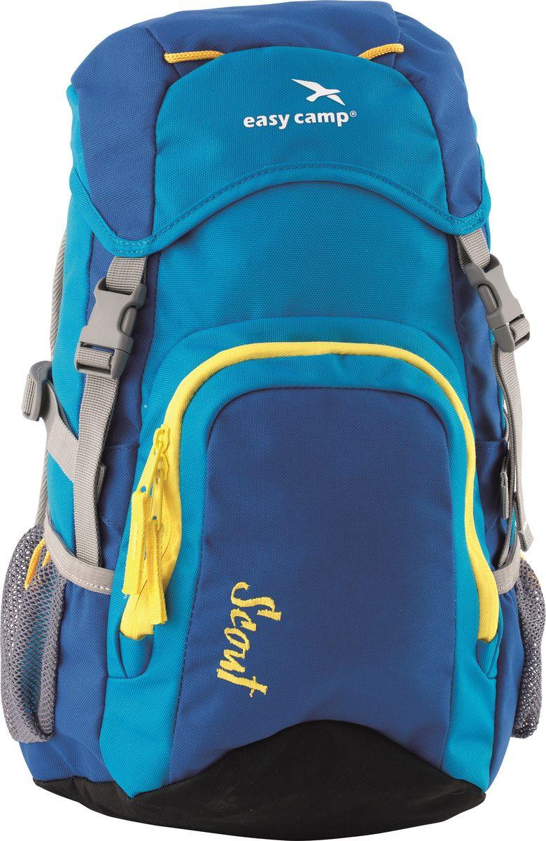 Рюкзак детский Easy Camp Scout, 360134, функциональный, 20 л, синий рюкзак туристический easy camp en route 360109 55 л черный