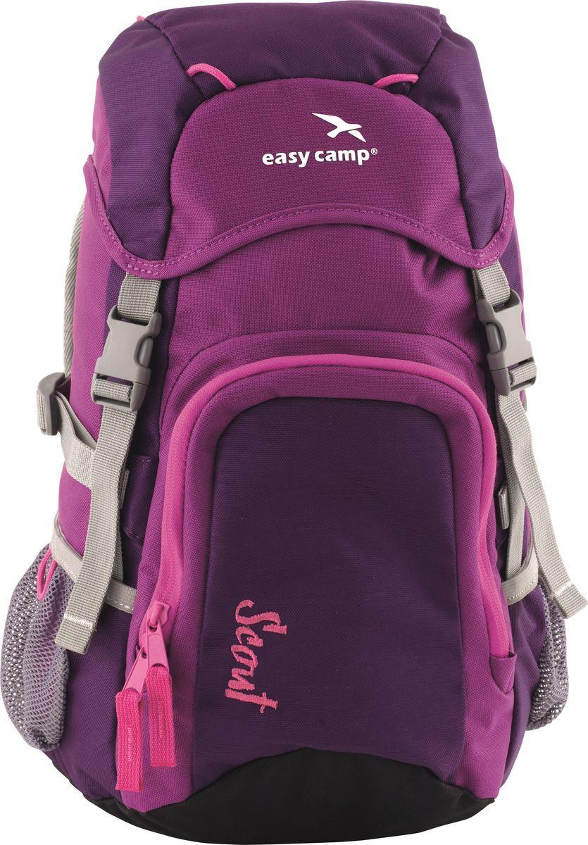 Рюкзак детский Easy Camp Scout, 360135, функциональный, 20 л, фиолетовый рюкзак туристический easy camp en route 360109 55 л черный