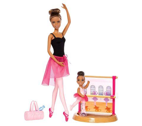 Кукла Mattel Барби брюнетка серия Карьера балет