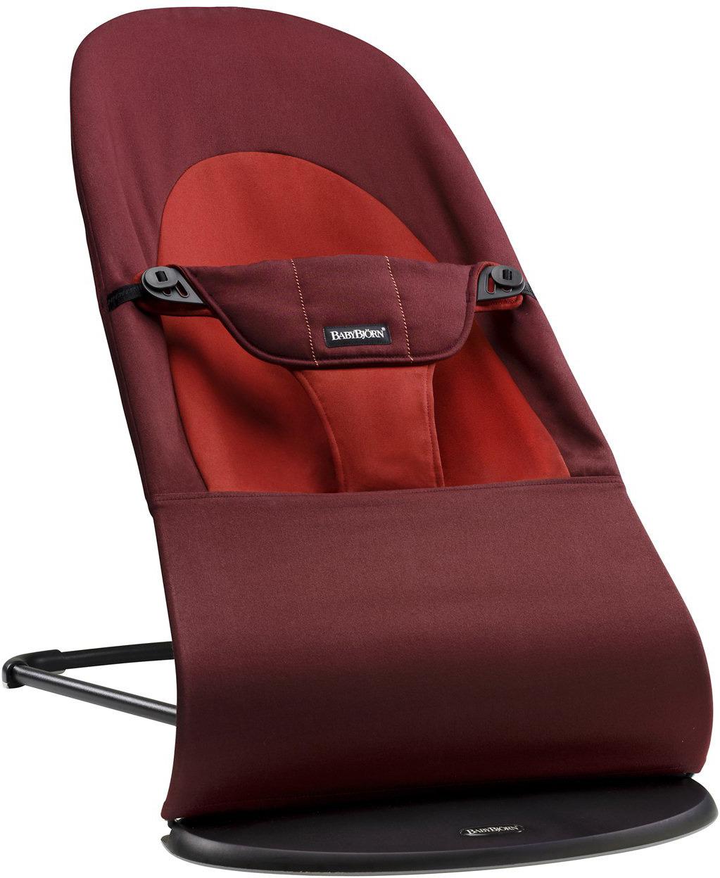 цена на Кресло-шезлонг BabyBjorn Balance Soft, цвет: оранжевый