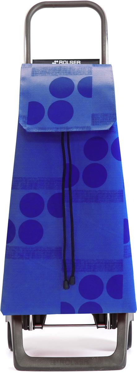 сумка тележка rolser joy jet027 синий 40 л Сумка-тележка Rolser Joy, JET008, синий, 40 л
