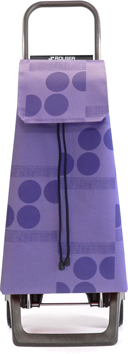 сумка тележка rolser joy jet027 синий 40 л Сумка-тележка Rolser Joy, JET008, фиолетовый, 40 л