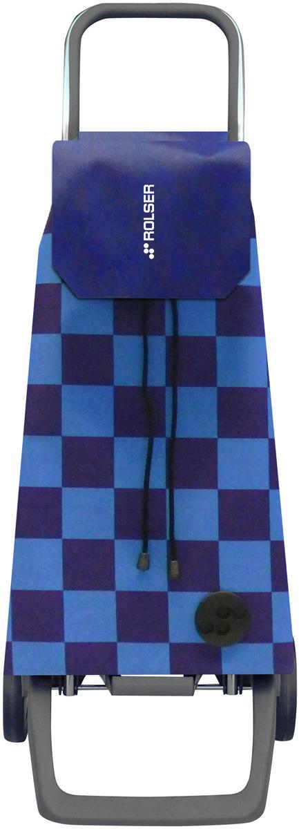 сумка тележка rolser joy jet027 синий 40 л Сумка-тележка Rolser Joy, JET027, синий, 40 л