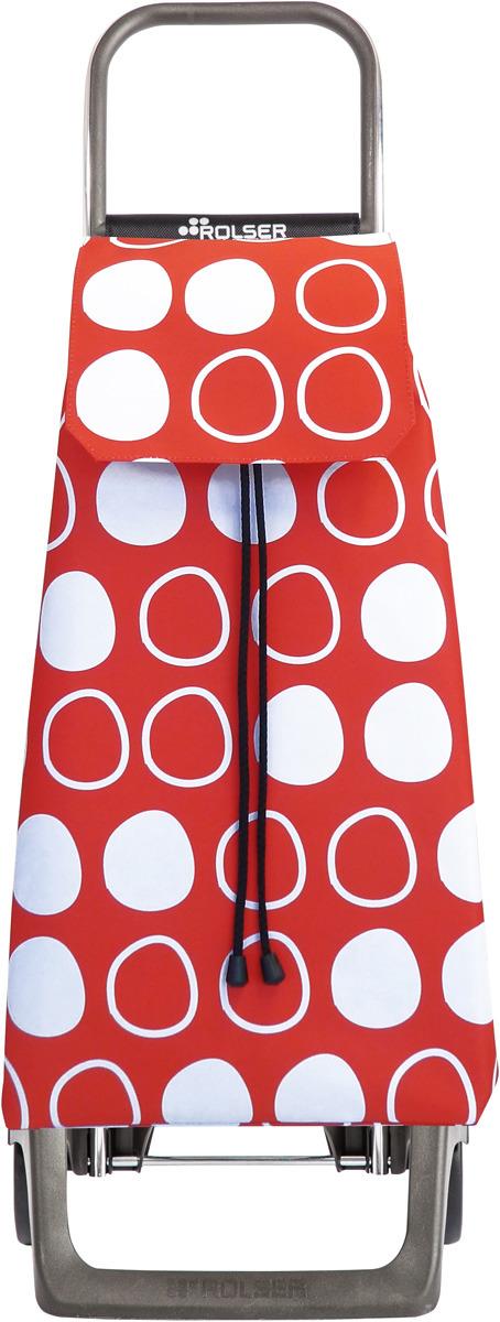 Сумка-тележка Rolser Joy, JET036, красный, 40 л двухколесная ручная тележка тор 131031