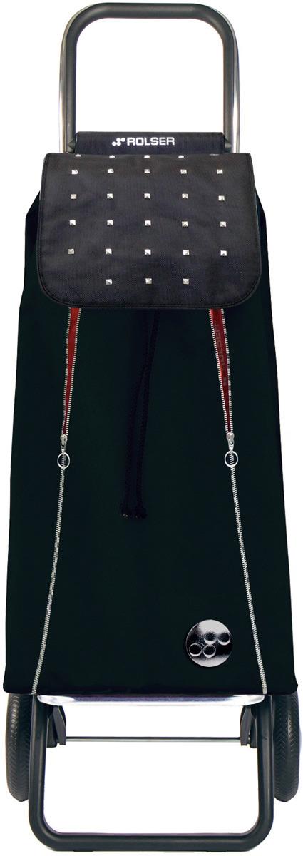 Сумка-тележка Rolser Convert RG, IMX013, черный, красный, 43 л чемодан тележка 72 см черный 2 колеса