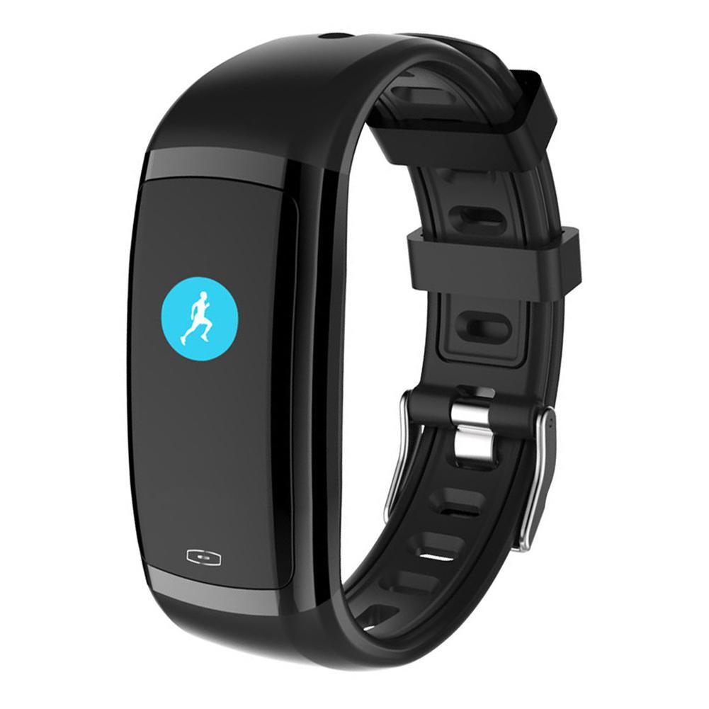 CD09 Bluetooth монитор сердечного ритма артериального давления Smart Band (черный)