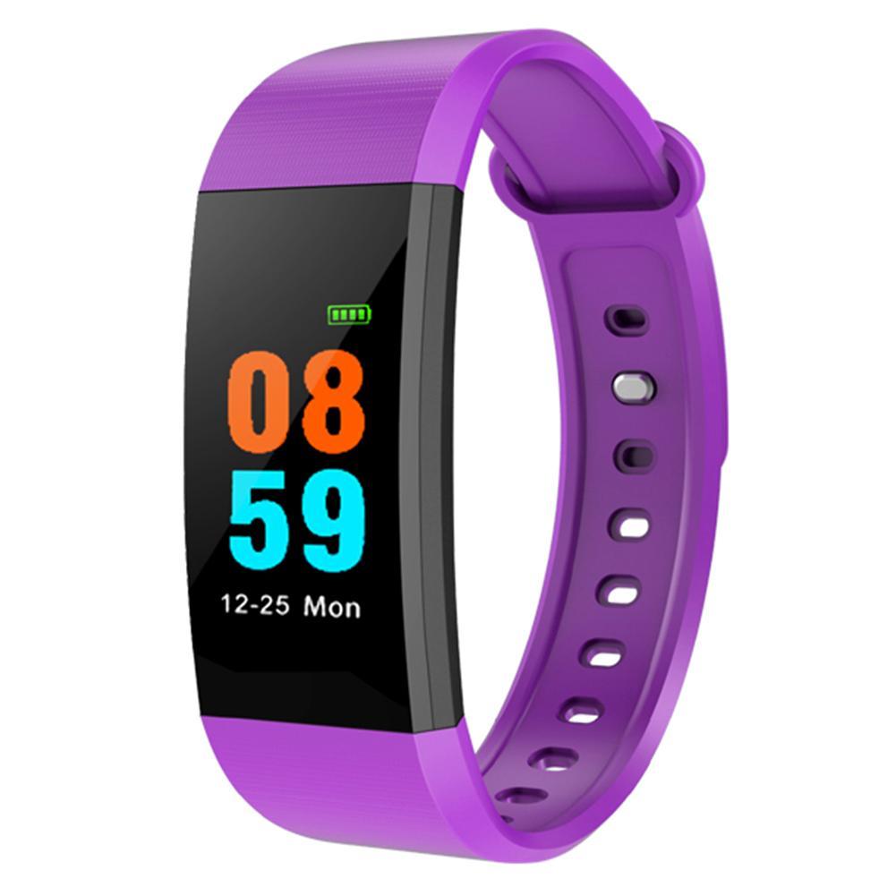I9 0,96-дюймовый TFT-экран монитора сердечного ритма Smartband (фиолетовый)