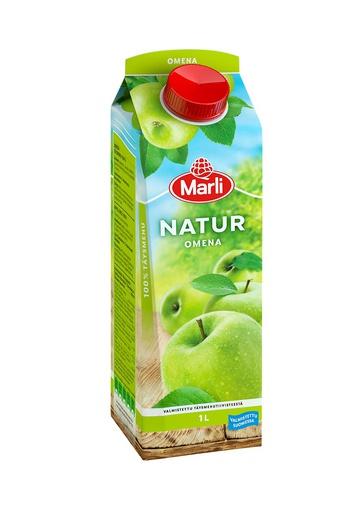 Сок Natur яблочный, 1 л, т. м. Marli (тетрапак) #10