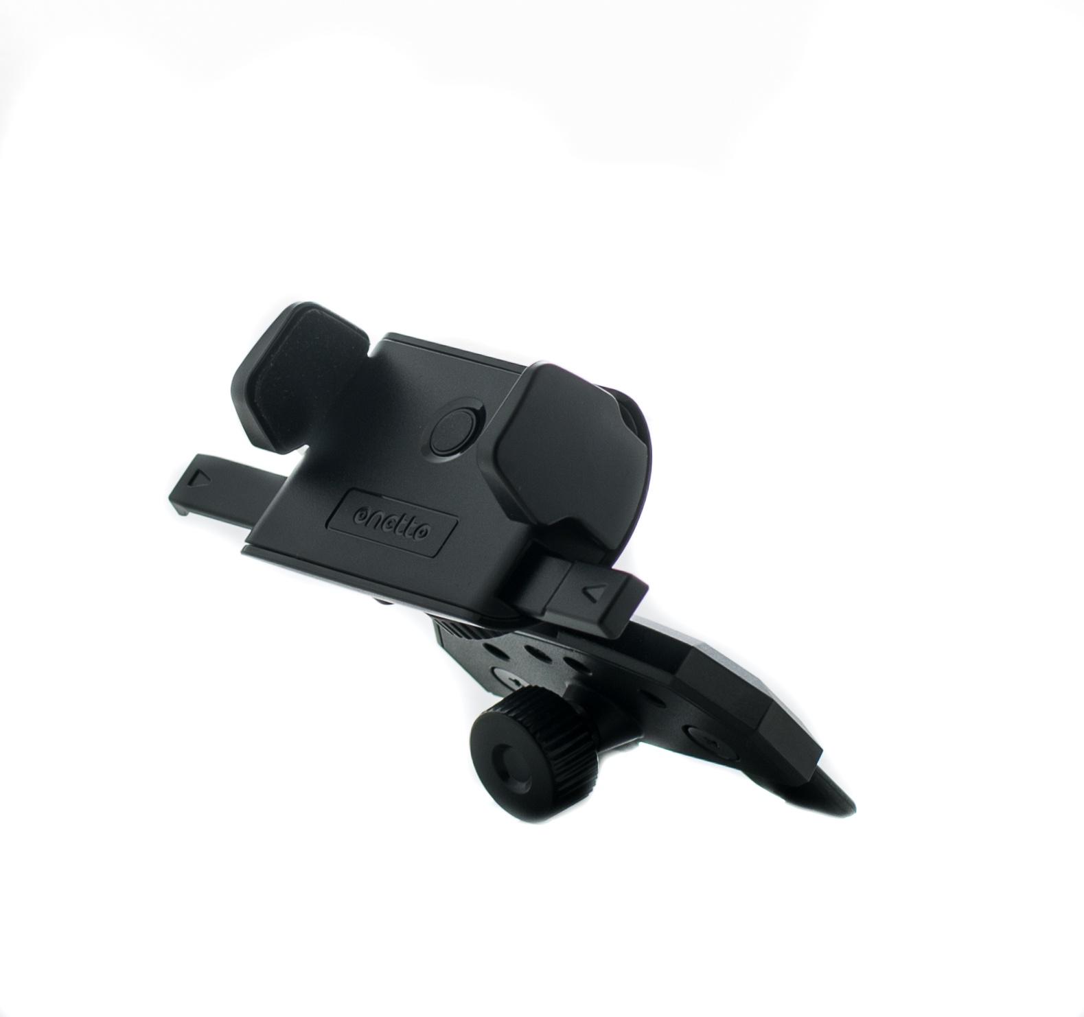 Автомобильный держатель Onetto CD Slot Mount One Touch Mini автомобильный держатель onetto mount easy one touch 2 черный