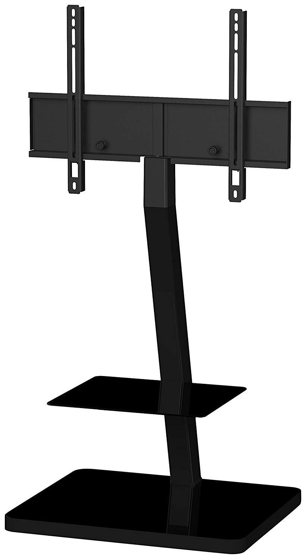 Стойка для ТВ Sonorous PL 2710 BLK-HBLKPL 2710 BLK-HBLKНадежная стойка под телевизоры с универсальным поворотным креплением из закаленного стекла с закругленными углами и полированной кромкой. Поворотное крепление подходит для всех видов плоских телевизоров (LCD, LED и плазма) и имеет возможность регулировки высоты. В задней ножке расположен кабель-канал для маскировки проводов и кабелей. Стойка предназначена для телевизоров с диагональю 37-65 дюймов (весом до 30 кг). Крепление поддерживает форматы 20x20, 30x30, 40x40, 60x40