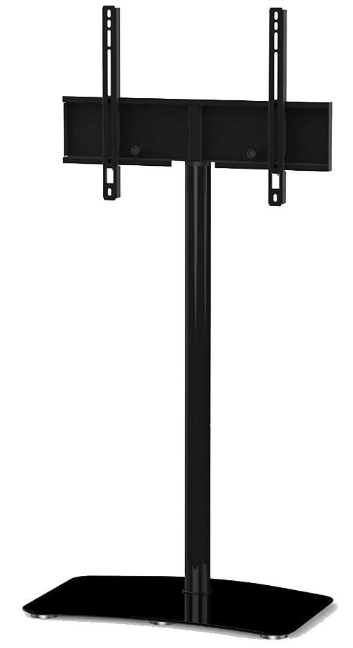Стойка для ТВ Sonorous PL 2800 BLK-HBLKPL 2800 BLK-HBLKНадежная стойка под телевизоры с универсальным поворотным креплением из закаленного стекла с закругленными углами и полированной кромкой. Поворотное крепление подходит для всех видов плоских телевизоров (LCD, LED и плазма) и имеет возможность регулировки высоты. В задней ножке расположен кабель-канал для маскировки проводов и кабелей. Стойка предназначена для телевизоров с диагональю 37-65 дюймов (весом до 30 кг). Крепление поддерживает размеры VESA 200x200, 300x300, 400x400. Габариты (ШxВxГ, мм): 650х1380х450
