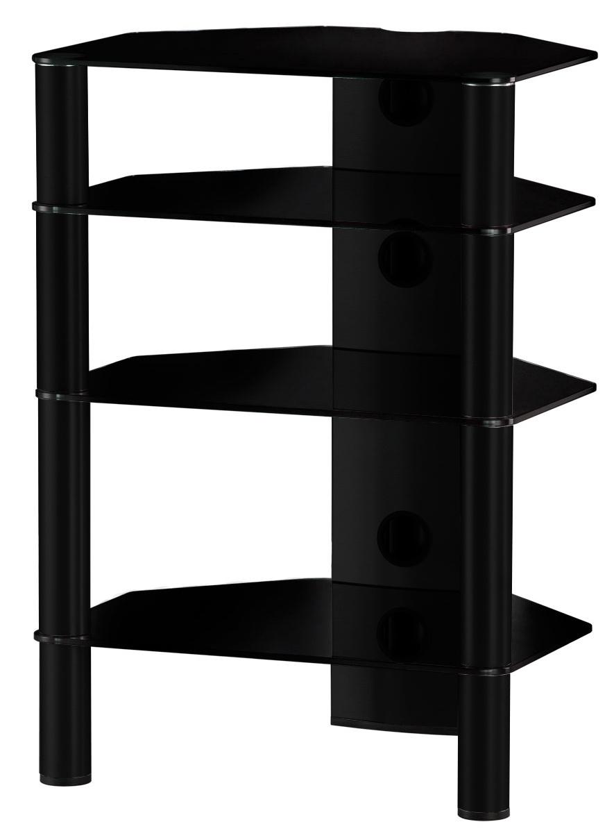 Стойка для акустики/HiFi Sonorous RX 2140 B-HBLK цена и фото