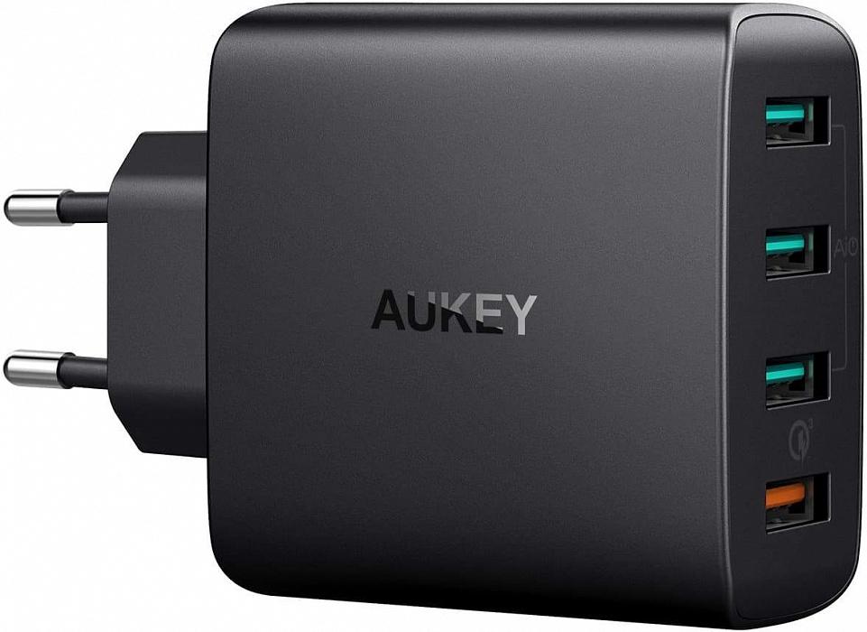 Зарядное устройство AUKEY Wall Charger PA-T18, черный