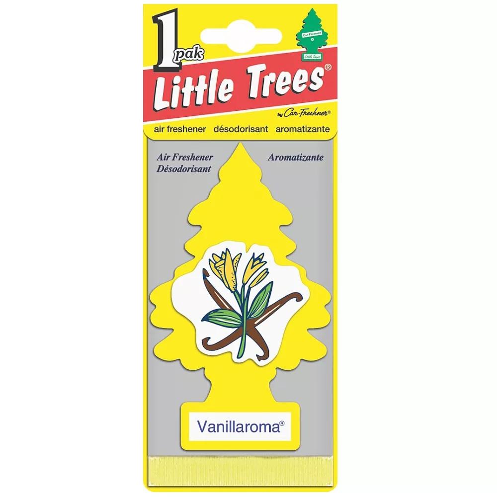 Автомобильный ароматизатор Car-Freshner Little Trees, ваниль, США автомобильный ароматизатор car freshner little trees зеленое яблоко сша
