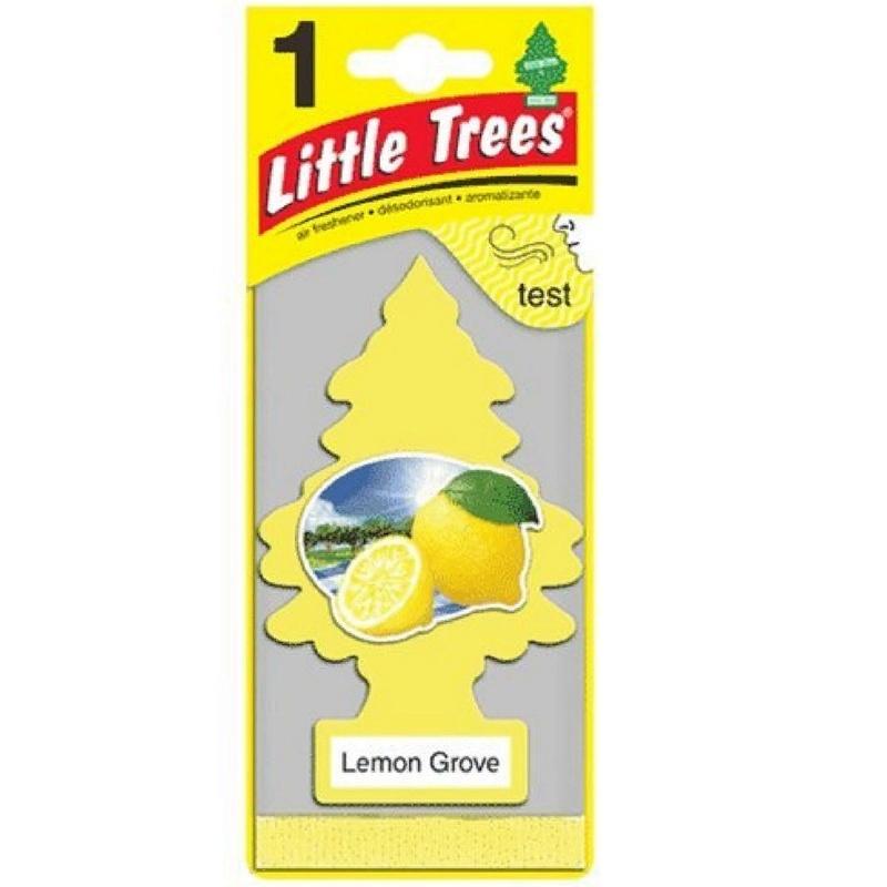 Автомобильный ароматизатор Car-Freshner Little Trees, лимонный сад, США автомобильный ароматизатор car freshner little trees зеленое яблоко сша