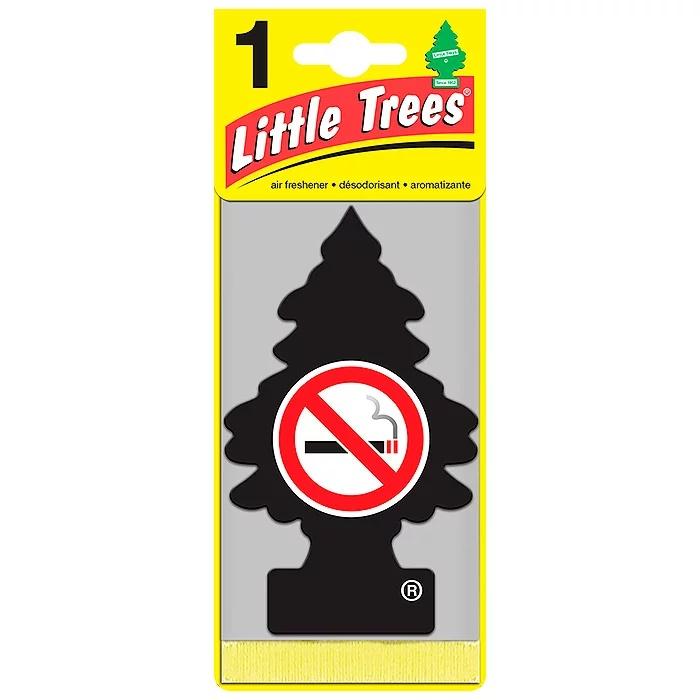 Автомобильный ароматизатор Car-Freshner Little Trees, не курить, США ароматизатор car freshner mixed naturals лайм с лимоном