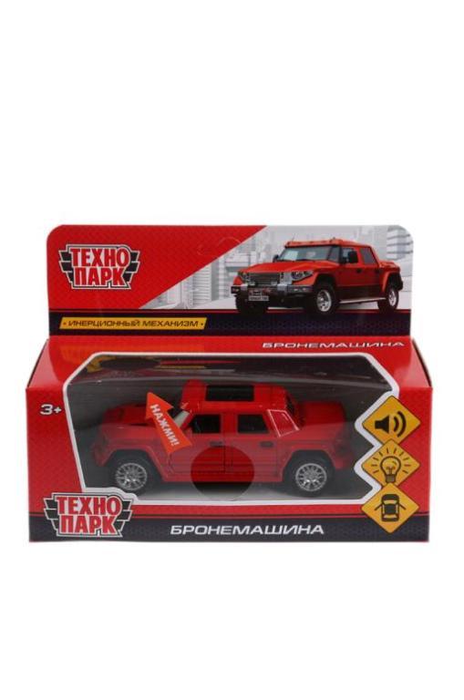 Машинка Технопарк БРОНЕМАШИНА красный игрушка технопарк бронемашина fy6158 sl