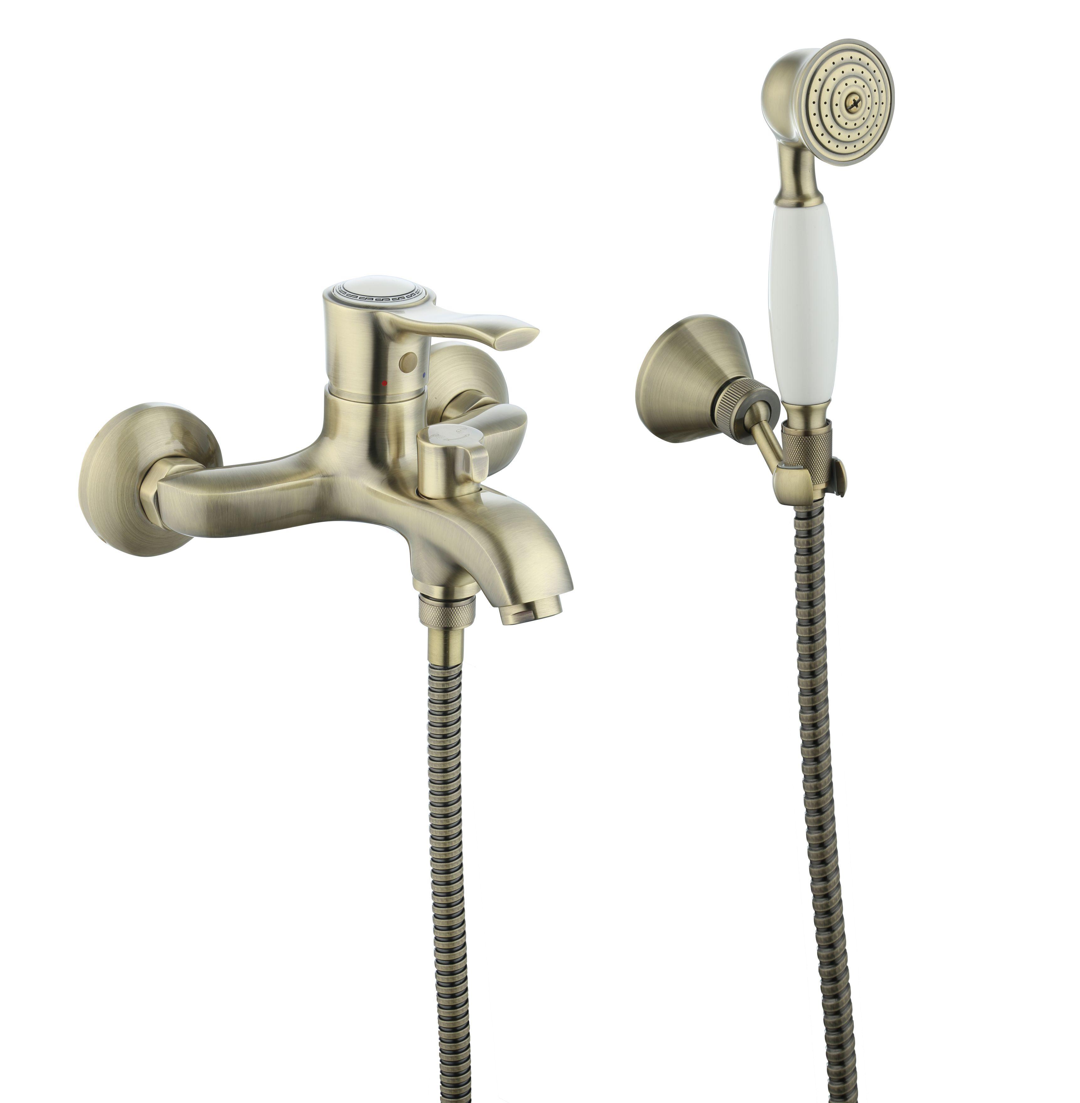Смеситель SMARTsant Смарт-Винтаж для ванны и душа смеситель smartsant смарт фалькон для ванны душа