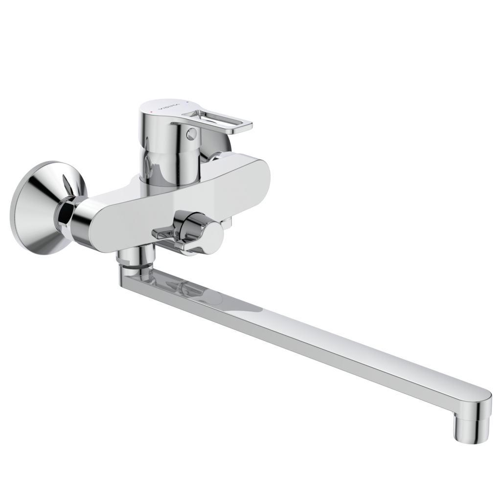Смеситель Vidima Видима Хайп для ванны и душа смеситель для ванны коллекция sirius 009 2993 однорычажный хром vidima видима