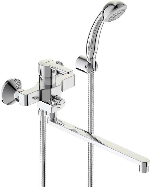 Смеситель Vidima Видима Уно для ванны и душа смеситель для раковины vidima уно ba235aa