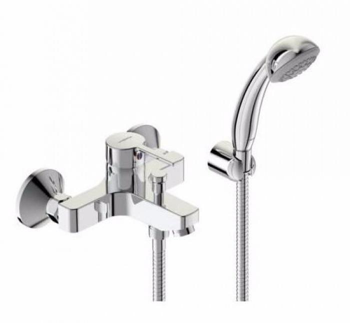 Смеситель Vidima Видима Логик для ванны и душа смеситель для ванны коллекция орион b4225аа ba005aa однорычажный хром vidima видима