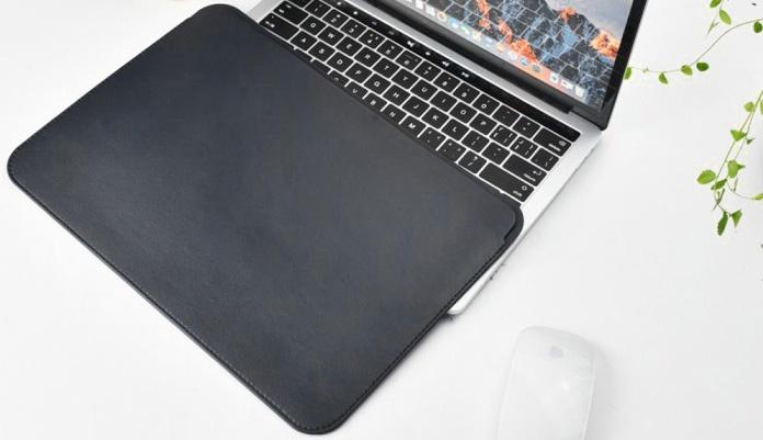 Чехол для ноутбука Wiwu Skin Pro Leather для MacBook Pro 13 2016 черный