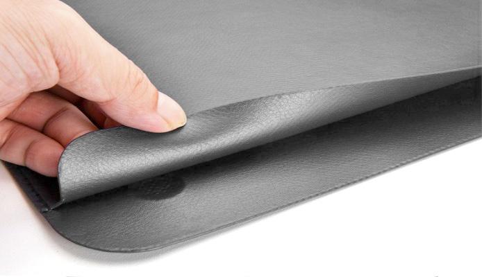 Чехол для ноутбука Wiwu Skin Pro Leather для MacBook Pro 15 серый