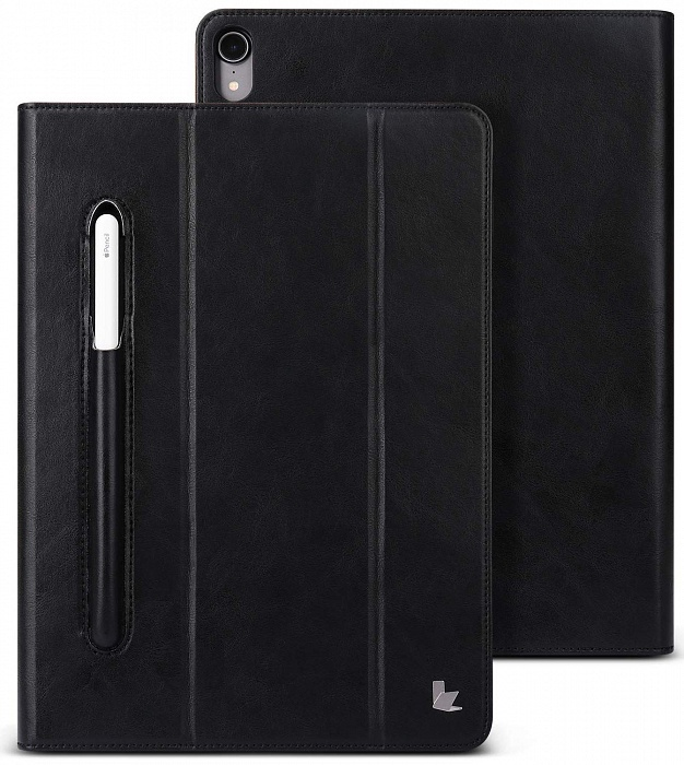 Чехол для планшета Jison Mircofiber Leather Case (JS-PRO-45M) для iPad Pro 11, черный
