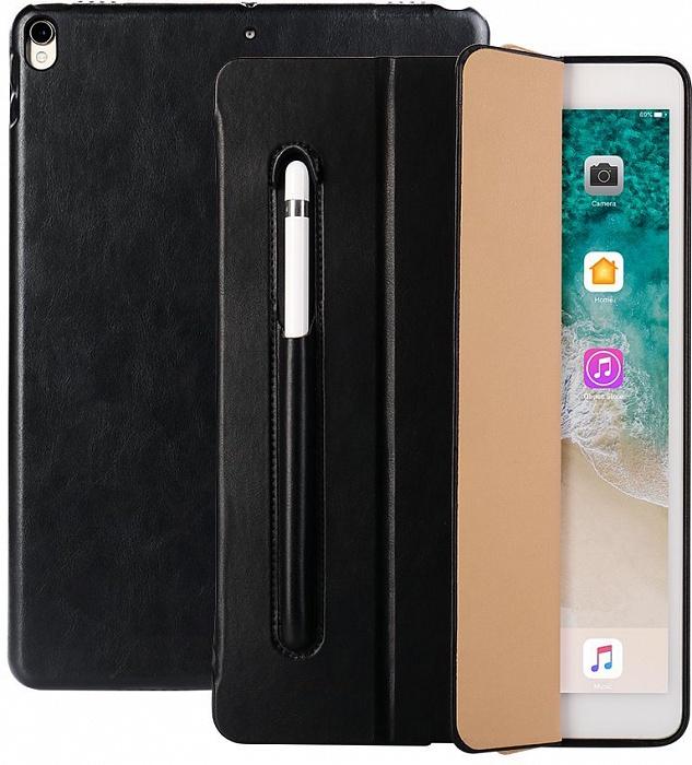 Чехол для планшета Jison PU Leather JS-PRO-31M для iPad Pro 10.5, черный симпатичный котенок дизайн кожа pu откидной крышки кошелек карты держатель чехол для ipad pro 12 9