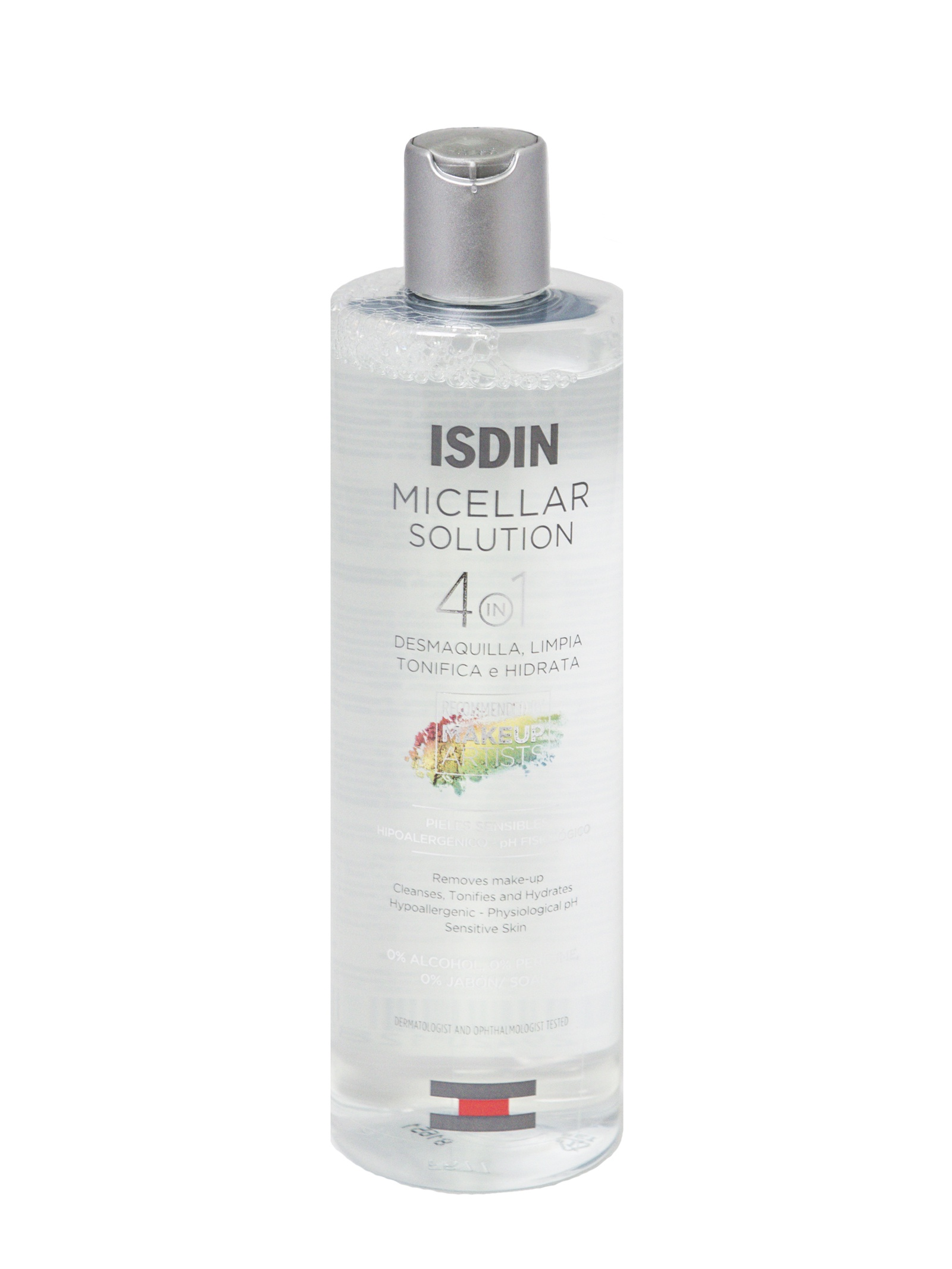 Вода мицеллярная ISDIN Вода мицеллярная 4 в 1 / Micellar solution 4 in 1, 400 мл