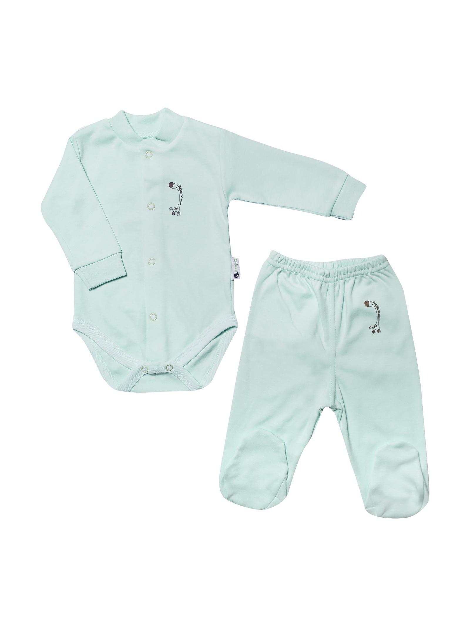 Комплект одежды ТМ Клякса комплект для мальчика клякса боди ползунки цвет экрю голубой 33к 5197 размер 80