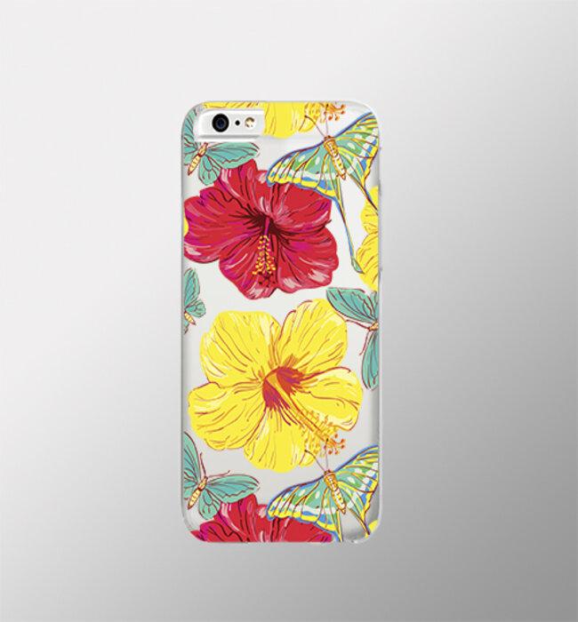 Чехол для сотового телефона iPapai Apple iPhone 5/5S/SE, желтый, красный стоимость