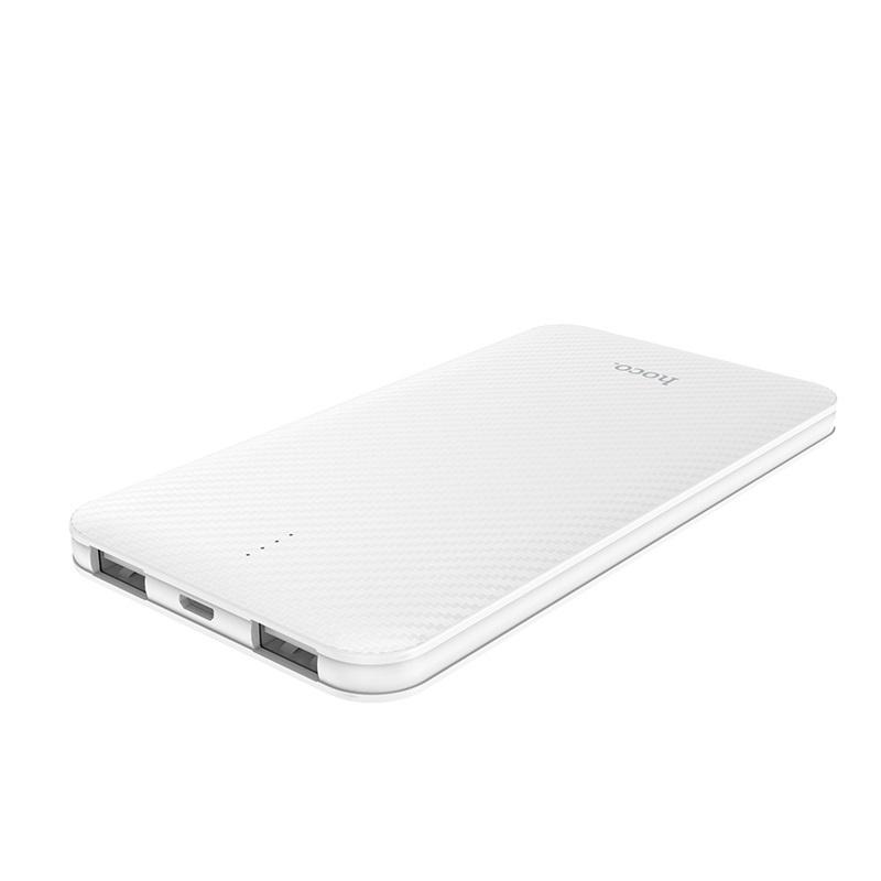 Внешний аккумулятор Hoco 6957531090991, белый внешний аккумулятор hoco 5200 mah серый