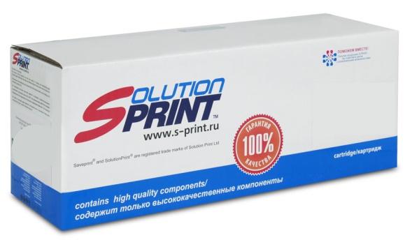 Тонер-картридж Solution Print TK-1200, черный