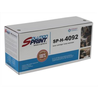 лучшая цена Картридж Solution Print SP-H-4092, черный, для лазерного принтера